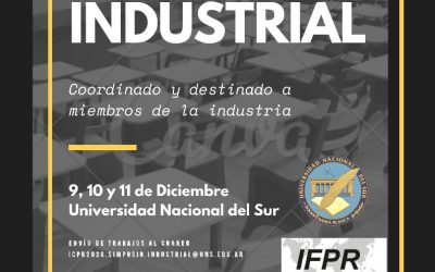 Simposio Industrial- International Conference of Production Research Americas 2020: